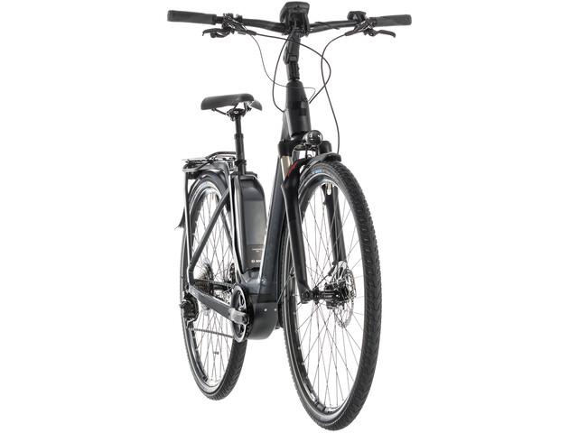 Cube Touring Hybrid SL 500 E-trekkingcykel Easy Entry grå (2019) | City-cykler